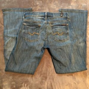 7 For All Mankind Jeans.  Bootcut.  Size 25.